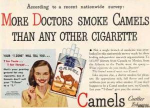 Camel advertising